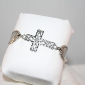 Filgree Cross Bracelet