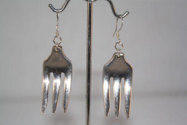 Fork Earrings 2