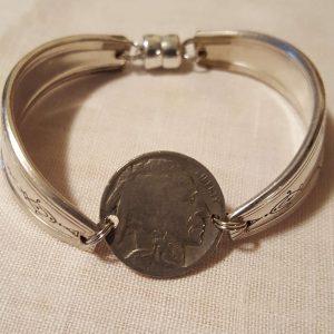 Indian Nickel Coin Bracelet 2