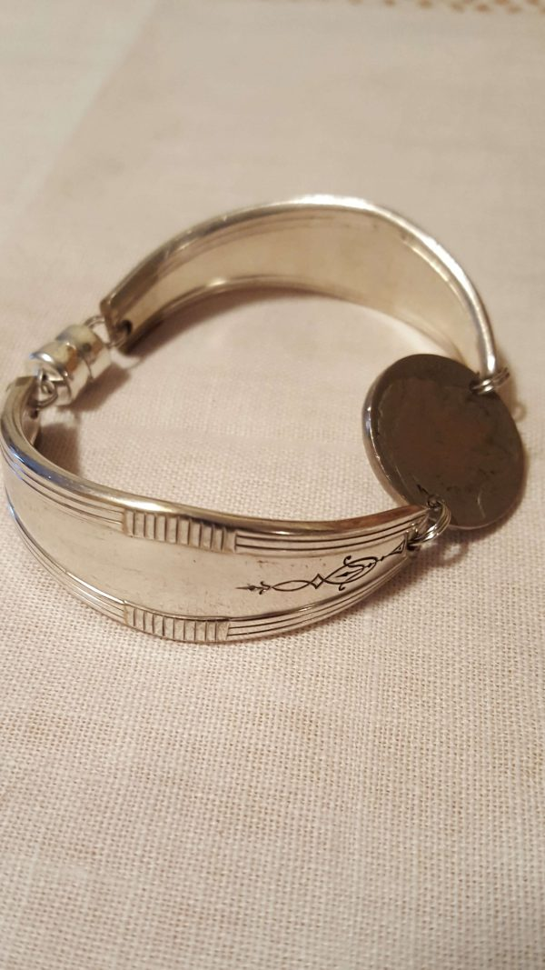 Indian Nickel Coin Bracelet