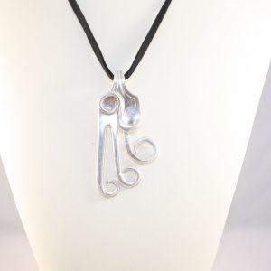 Laurel Crazy Fork Necklace