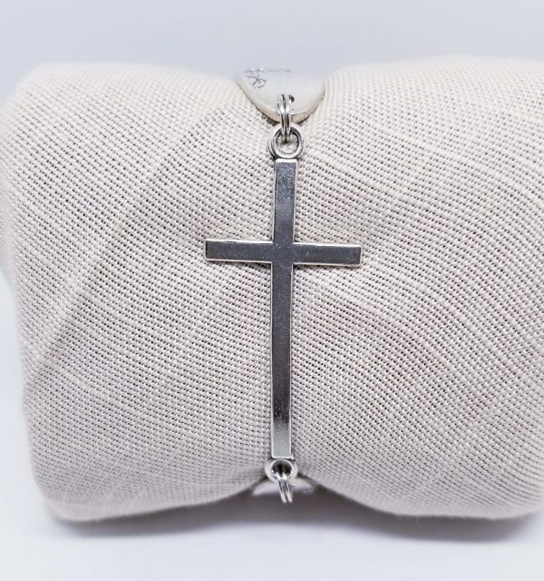 Solid Cross Bracelet 2