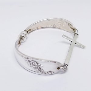 Solid Cross Bracelet