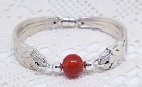Carnelian Bead Bracelet